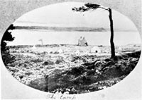 Premier camp à Brownsea